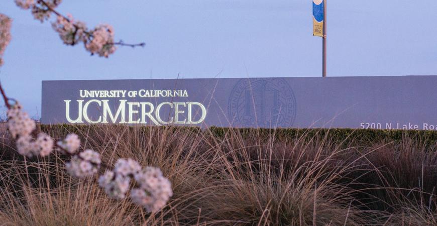 UC Merced signage